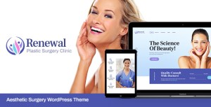 Renewal | Plastic Surgery Clinic Medical WordPress Theme