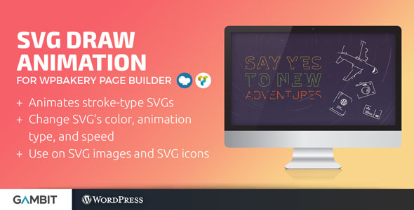 SVG Draw Animation for WPBakery Page Builder (formerly Visual
