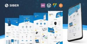 Siber - SaaS, Software & Mobile App for SaaS/Software WordPress Theme