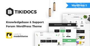 Tikidocs - Knowledgebase & Support Forum WordPress Theme