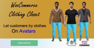 WooCommerce Clothing Closet