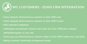 WooCommerce Customers - Zoho CRM Integration