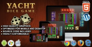 Yacht Dice Game - HTML5 Board Game