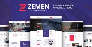 Zemen - Multi-Purpose Consulting Business WordPress Theme
