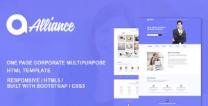 Alliance Html Corporate Landing Page Template