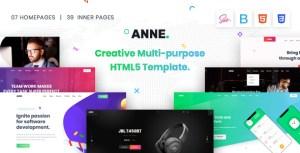 Anne - Multipurpose HTML5 Template