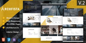 Archfista - Architecture Interior Design & Building HTML 5 Template