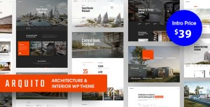 Arquito - 3D Architecture & Interior WordPress Theme