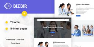Bizbir - Multi-Purpose Business Template