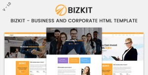 Bizkit - Business And Corporate HTML Template