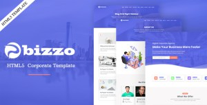 Bizzo-Business and Corporate Multipurpose HTML Template