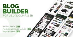 Blog Builder For Visual Composer