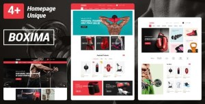 Boxima - Gym Fitness Equipment Store HTML Template