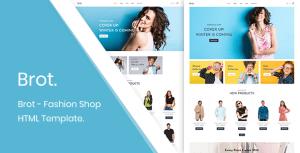 Brot - Fashion Shop HTML Template