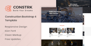 Constrk - Construction HTML Template