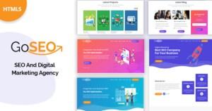 Goseo - SEO & Digital Marketing Agency Template