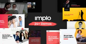 Implo - Corporate, Business, Portfolio and Niche Multi-purpose Template