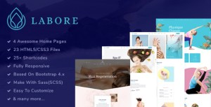 Labore - Spa, Beauty & Yoga HTML5 Template
