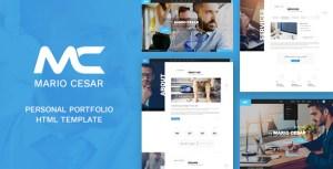 Mario Cesar : Personal Portfolio HTML Template