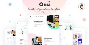 Onu - Creative Agency HTML Template