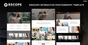 Orscope Interactive Photography Template