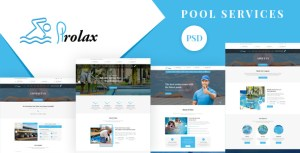 Prolax - Pool Services and Repairing PSD Template