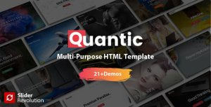 Quantic - Premium One Page Multi-Purpose HTML5 Template