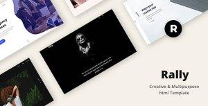 Rally - Creative & Multipurpose html Template