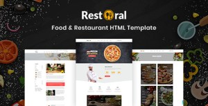 Restoral - Food & Restaurant HTML Responsive Bootstrap 4 Template
