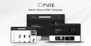 Ruiz - Watch Store HTML Template