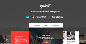 Spirit Mail - Responsive E-mail Template + Online Access