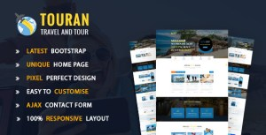 Touran - Tour and travel HTML5 template