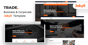 Trade - Corporate and Business Jekyll Template