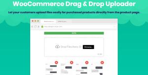 WooCommerce Drag & Drop Uploader   Ajax File Upload