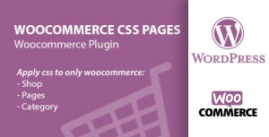 Woocommerce Custom CSS Pages, Products, Accounts & Categories