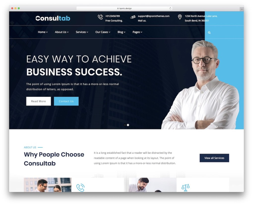 consultab consulting thème wordpress