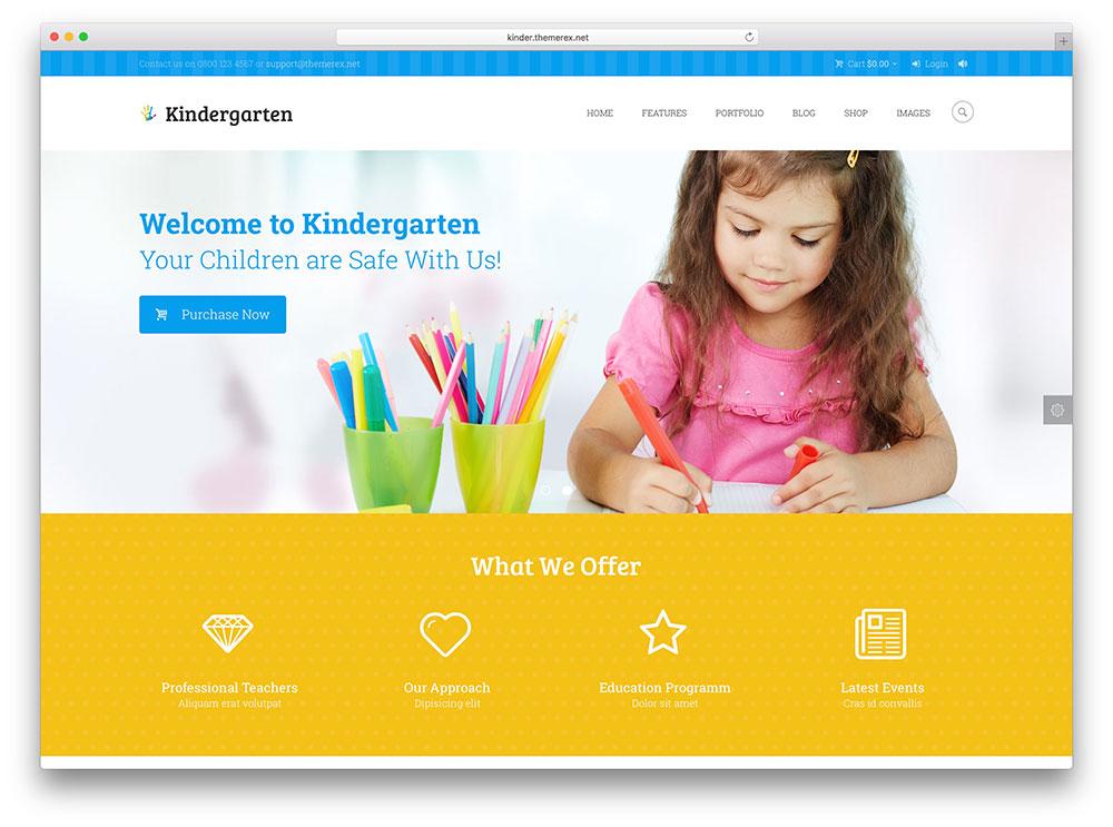 jardin d'enfants-edu-wordpress-theme