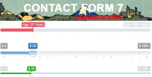 Contact Form 7 Range Slider