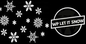 WP Let It Snow Wordpress Plugin