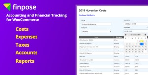 WooCommerce Accounting and Financial Tracking - Finpose