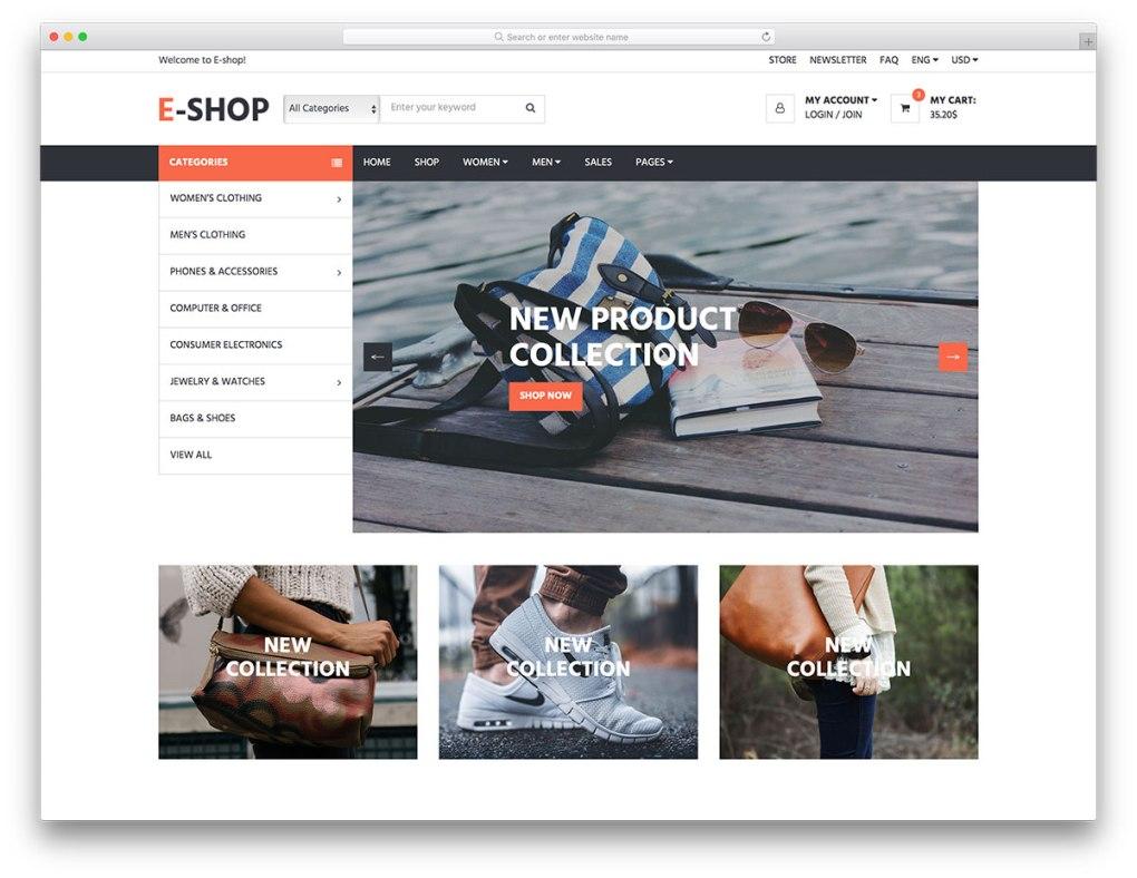 modèle de site Web gratuit pour mobile