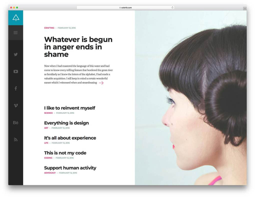 suppablog free blog template