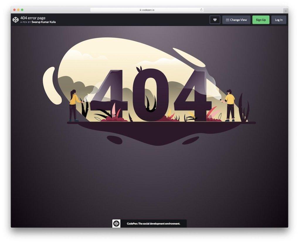 404 page d'erreur modèle de page d'erreur gratuit