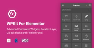 WPKit For Elementor | Advanced Elementor Widgets Collection & Parallax Layer