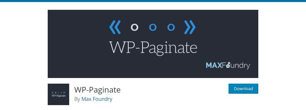 WP-Paginate