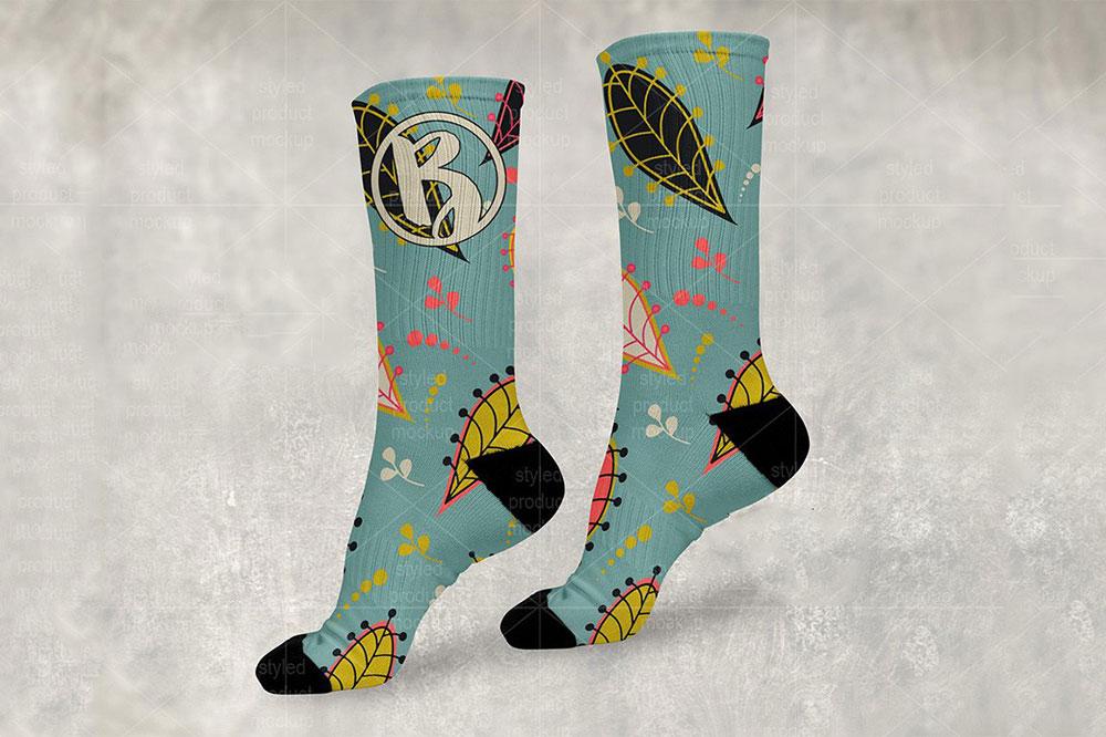 maquettes de chaussettes