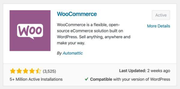 Comment installer le plugin WooCommerce dans WordPress