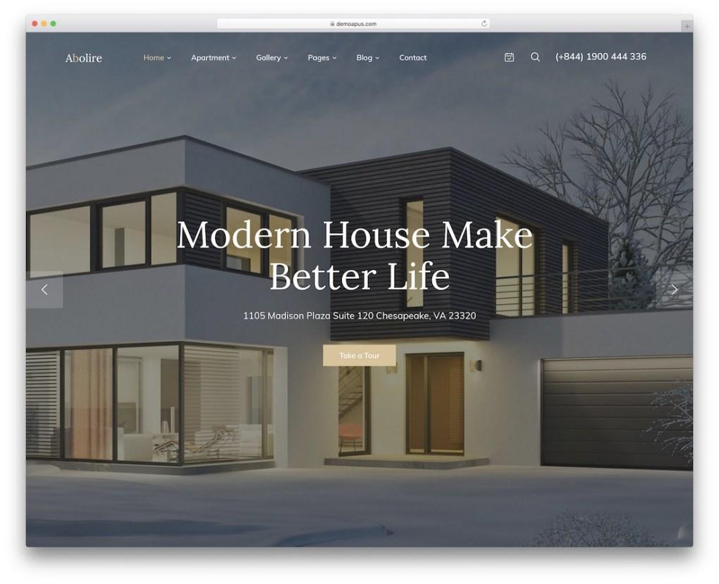 supprimer le thème wordpress agent immobilier