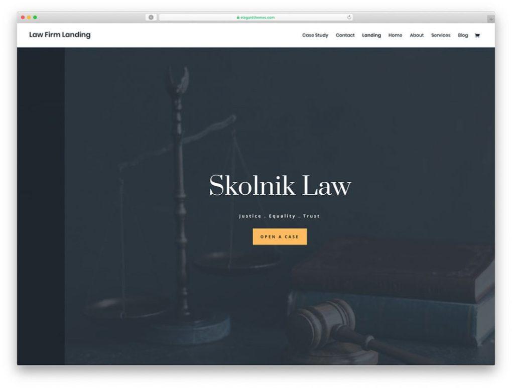 thème WordPress avocat