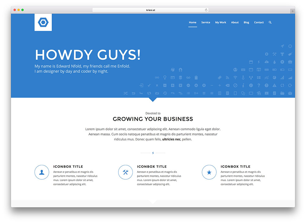 enfold - most popular business theme